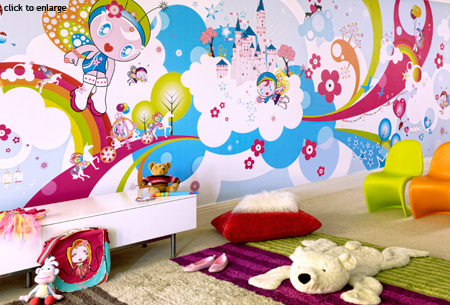 children's wallpaper murals