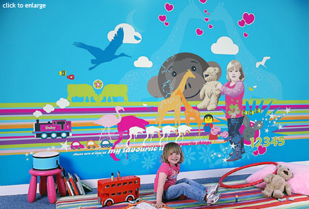 childrens wallpapers. children#39;s wallpaper murals